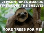 Great news: Jewson has cleared its stores of Amazon timber!